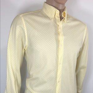 J.CREW Men's Shirt Sz M 151/2 16 Regular Long Slee